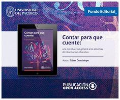 Fondo Editorial de la Universidad del Pacífico. Libro: Contar para que cuente - post para redes sociales.