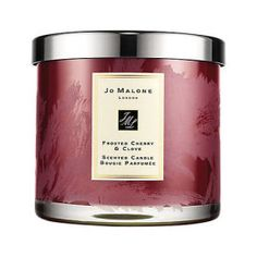 The fantasy of Christmas, captured in Jo Malone™ Frosted Cherry & Clove. Flickering light. Enveloping scent. Sweet and juicy cherry compliments the spiced scent of clove, comforting cinnamon and sensual amber. Succulent and warming.