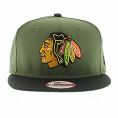 Fitted Caps, Chicago Blackhawks, Snapback, Caps Hats, Snapback Hats 9b56000e83b5