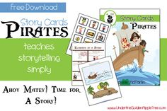 Free Download: Pirates Story Cards