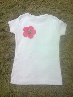 Camiseta Flores - costas