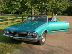 1968 Chevelle Convertible SS 396 4 Speed
