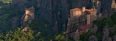 Meteora, Greece | 360 Degree Aerial Panorama | 3D Virtual Tours Around the World | Photos of the Most Interesting Places on the Earth | AirP...