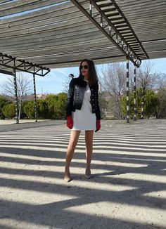 Con la chaqueta mas fetiche de la Collection Instinto by Isabella...de piel, made in Spain