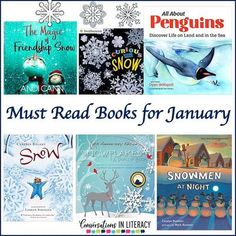 This collection of Must Read Books for January is just right for your elementary classroom this winter! Nonfiction, fiction and even a popup are part of this group of winter books. #elementary #guidedreading #Januarybooks #conversationsinliteracy #kindergarten #first grade #secondgrade #thirdgrade kindergarten, 1st grade, 2nd grade, 3rd grade