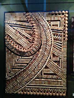 Resultado de imagem para wine cork crafts fan pull