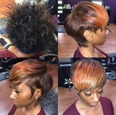 African American Short Bob Hairstyles With Bangs - The Best Style In 2018 Short Hair With Bangs, Short Hairstyles For Women, Short Hair Cuts, African Hairstyles, Hairstyles With Bangs, Cool Hairstyles, Spring Hairstyles, Hairstyles 2016, Hairstyle Ideas