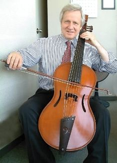 The Arpeggione is a six-stringed musical instrument, fretted and tuned like a guitar, but bowed like a cello,   and thus similar to the bass viola da gamba.