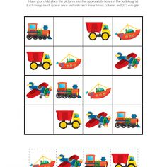 School Sudoku Puzzles - Gift of CuriosityDiscover recipes, home ideas, style inspiration and other ideas to try.Parenting Teens With Love And LogicVerses About Parenting Enhance Child Development With Toys. Parents who are trying to find toys that will im Sudoku Puzzles, Printable Puzzles, Logic Puzzles, Puzzles For Kids, Activities For Kids, Transportation For Kids, English Worksheets For Kids, Love And Logic, Critical Thinking Skills
