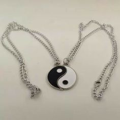 Miraculous: Tales of Leopardess, Ladybug, and Cat Noir Book 1 - The Bubbler - Page 2 - Wattpad Bff Necklaces, Best Friend Necklaces, Best Friend Jewelry, Cute Jewelry, Jewelry Accessories, Friendship Necklaces, Accesorios Casual, Birthday Gifts For Her, Yin Yang