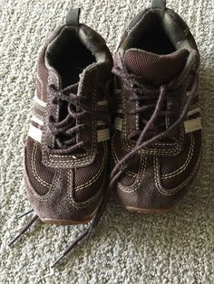 dcd7c08f335e Boys Brown Baby Gap Retro Shoes Size US 12  fashion  clothing  shoes   accessories  babytoddlerclothing  babyshoes (ebay link)