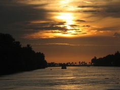 Sunset at Backwaters by sabyasachi_lawyer, via Flickr
