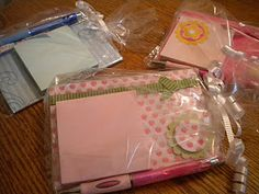 gift idea for teachers/volunteers