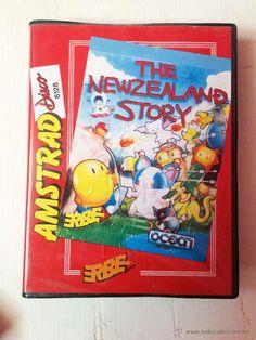 JUEGO AMSTRAD CPC-6128-DISCO-THE NEWZEALAND STORY-AÑO 1990