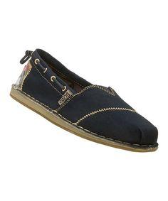Look at this #zulilyfind! Navy Chill Slip-On Shoe by BOBS from Skechers #zulilyfinds