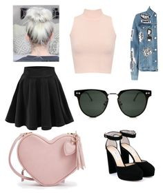 """Untitled #300"" by sarinadu ❤ liked on Polyvore featuring WearAll, Frame, Jimmy Choo and Spitfire"