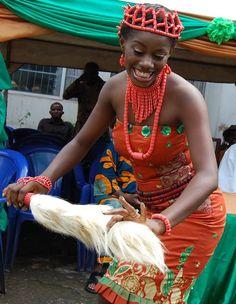 Traditional Igbo bride.