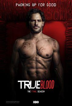 Alcide ~ True Blood: The Final Season by Emre Ünaylı, via Behance