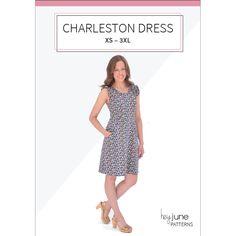 The Charleston Dress PDF pattern by Hey June Handmade
