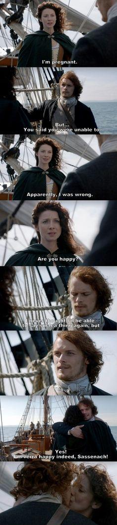 Outlander - S01E16 - Jamie ♥ Claire