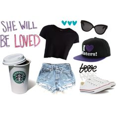 """Road trip outfit"" by kmnguyen on Polyvore"