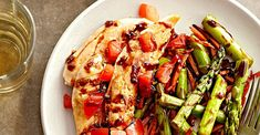 Balsamic Chicken and Vegetables Balsamic Chicken Recipes, Clean Eating, Healthy Eating, Chicken And Vegetables, Veggies, Heart Healthy Recipes, Better Homes, The Ordinary, Food Dishes