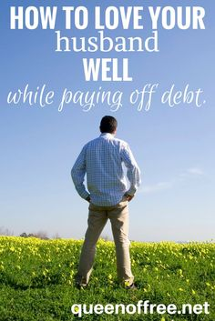 Paying off debt can take a toll. Check out 7 things you can do to love your husband well while you are paying off debt. Debt Payoff Tips, #Debt