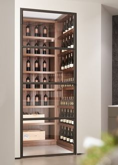 Crittal Doors - Modern doors that are suitable for any room, especially an extension or wine cellars 🍷Cheers to that! Glass Wine Cellar, Home Wine Cellars, Wine Cellar Design, Wine Cellar Modern, Under Stairs Wine Cellar, Wine Cellar Basement, Küchen Design, House Design, Crittal Doors