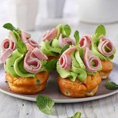 Cupcake jambon et petits pois : 20 recettes pour un buffet de mariage - Journal des Femmes
