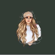 #q do you like Loren ?  #barbie#lorengray#hrvy#loren#love#loveyou#angel#angelsquad#losangeles#girl#photography#mylove#pink#girl#makeup#m#n#a#e#s#i#c#v####fff#l4l#c4c#usa Girl Drawing Sketches, Cute Girl Drawing, Girly Drawings, Cartoon Drawings, Cartoon Art, Pencil Art Love, Oblyvian Girls, Dibujos Tumblr A Color, Instagram Cartoon