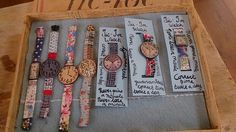 Hand made by Julie Arkell There is value beyond Omega and Rolex.!? Les soeurs anglases