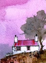 Resultado de imagen para pinturas artisticas de  casas blancas
