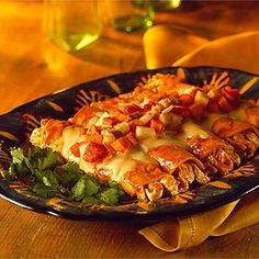 Fiesta Chicken Enchiladas | Entertaining Recipes