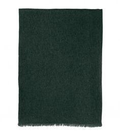 Cashmere voile scarf in Alligator Green — Eric Bompard