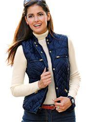 Chaleco mujer tejido acolchado impermeable Chaquetas De Punto Mujer a779fbc79b2fc