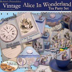 alice in wonderland tea set | Alice In Wonderland Tea Party Set!