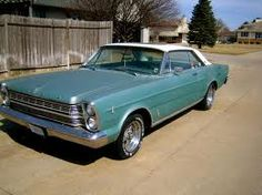 66 Galaxie 500.  Got it free...it was this colour, ran great and was huge inside.