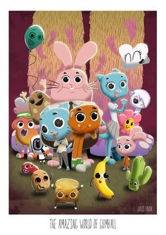 #The #Amazing #Gumball #Fan #Art. (The amazing world of Gumball) By: D3iv. [THANK U 4 PINNING!]