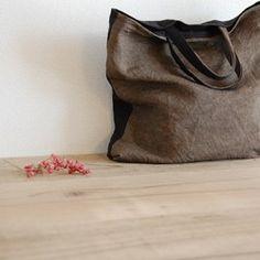 リネン:裂き織りトートバッグ|トートバッグ|so.|ハンドメイド通販・販売のCreema