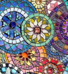 Detail - by Plum Art Mosaics (Sharon Plummer)