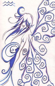 Aquarius Rising by Sycorax-Snow