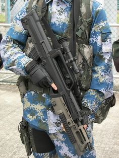 Type+95+QBZ95+5.8x42mm+Assault+Rifle+Carbine+Picatinny+rail+a+QBZ-97+Export+People%27s+Liberation+Army+armed+forces+China+Chinese+People%27s+Armed+Police+para-military+police+light+support+w+%2815%29.jpg (768×1024) #bluedigicamo #mightnotblend