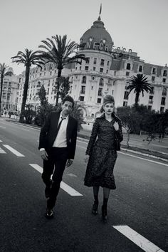 L'Amour Toujours: Natalia Vodianova and Adrian Brody by Peter Lindbergh for Vogue US July 2015 - CHANEL Fall 2015