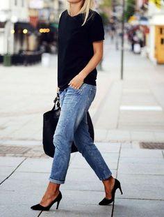 fabulous-looks:  T-shirt »Pants »Shoes »