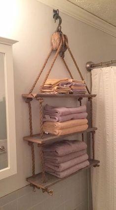 Pulley Towel Rack More