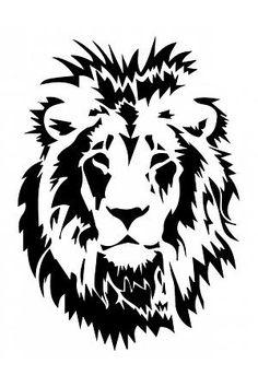 Lejonhuvud - Väggdekor