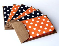 Halloween Dots Mini Notes by scrapbits