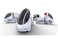これって、ミニマルなクルマの新しいカタチ?運転トラクターと荷台とを連結切り離しができる「トレーラー」。この概念をパーソナルカーに...