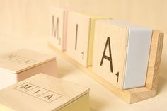 Doosje met letter