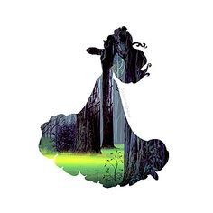 "Oringinal pinner said ""Disney silhouette for an art project for daughters room"" Disney And More, Disney Love, Disney Magic, Disney Art, Sleeping Beauty Movie, Sleeping Beauty Maleficent, Aurora Sleeping Beauty, Disney Films, Disney And Dreamworks"